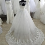 Новое свадебное платье с шлейфомЕ-4, Ростов-на-Дону