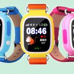 Детские Часы-Телефон Q80 с Wi-Fi и GPS, Ростов-на-Дону