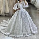 Свадебное платье принцессы со шлейфом, Ростов-на-Дону