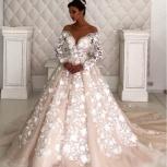 Свадебное платье со шлейфом Pudra, Ростов-на-Дону
