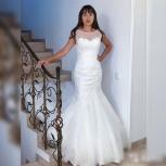 Новое свадебное платье «русалка» со шлейфом, Ростов-на-Дону