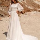Свадебное платье со шлейфом 52-54, Ростов-на-Дону