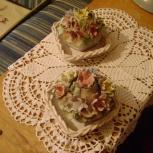 Фарфоровый набор корзиночки с цветами, Румыния, Ростов-на-Дону