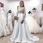 Новинка. Атласное свадебное платье 2019, Ростов-на-Дону