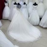 Свадебное платье со шлейфом в цвете Pudra, Ростов-на-Дону
