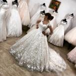 Новое супер кружевное свадебное платье со шлейфом, Ростов-на-Дону