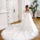Свадебное платье с большим шлейфом, Ростов-на-Дону