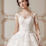Свадебное платье с рукавом и шлейфом, Ростов-на-Дону