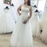 Новое свадебное платье с кружевом, Ростов-на-Дону