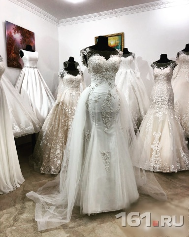 e8d42590ea4 Новое свадебное платье Рыбка со шлейфом