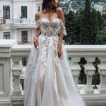 Свадебное платье со шлейфом Strekoza, Ростов-на-Дону