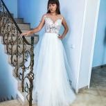 Свадебное платье с воздушной юбкой и шлейфом, Ростов-на-Дону