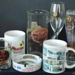 Печать логотипа, фото на кружки, тарелки, бокалы от производителя., Ростов-на-Дону