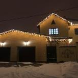 Украсим фасад вашего дома новогодними гирляндами, Ростов-на-Дону
