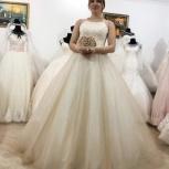 Новое свадебное платье с кружевом и шлейфом, Ростов-на-Дону