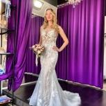 Свадебное платье Рыбка со шлейфом, Ростов-на-Дону