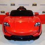 Детский электромобиль porsche 911 sport - qls-8988 красный, Ростов-на-Дону