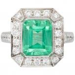 Продам шикарное кольцо с изумрудом, Ростов-на-Дону