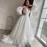 Свадебное платье Бохо со шлейфом, Ростов-на-Дону
