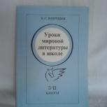 Книга Уроки мировой литературы, Ростов-на-Дону