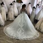 Новое свадебное платье SemidaSposa со шлейфом, Ростов-на-Дону