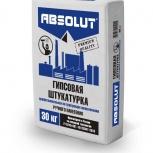 Штукатурка гипсовая Absolut Premium не требующая шпаклевания 30 кг, Ростов-на-Дону