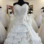 Атласное свадебное платье, Ростов-на-Дону