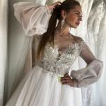 Свадебное платье Бохо/Gabbiano шлейф, Ростов-на-Дону