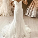 Новое свадебное платье Рыбка со шлейфом, Ростов-на-Дону