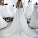 Легкое воздушное свадебное платье со шлейфом, Ростов-на-Дону