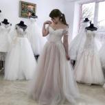 Новое свадебное платье с розовым оттенком, Ростов-на-Дону