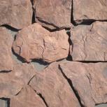 Камень природный Красный Дракон песчаник обожженный, Ростов-на-Дону