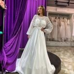 Свадебное платье «Рустик» со шлейфом, Ростов-на-Дону