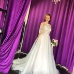 Свадебное платье со шлейфом Strekkoza, Ростов-на-Дону