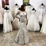 Новое свадебное платье «Рыбка» Капучино, Ростов-на-Дону